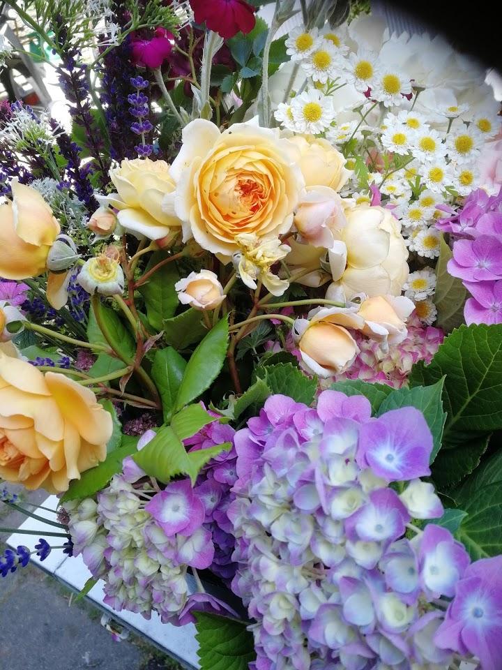 Sankt Hans Nyker Midsommerkrans blomster